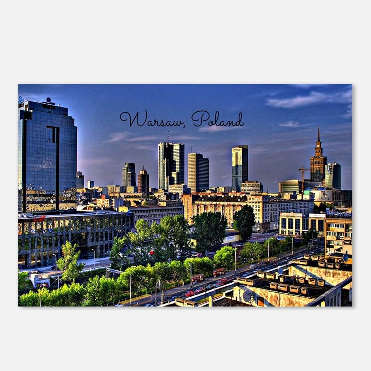 Cute Poland Postcards (Package of 8)