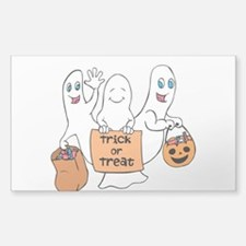 Cute Ghosts - Trick or Treat Decal