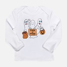 Cute Ghosts - Trick or Treat Long Sleeve T-Shirt