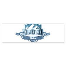 Schweitzer Idaho Ski Resort 1 Bumper Bumper Sticker
