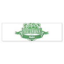 Schweitzer Idaho Ski Resort 3 Bumper Bumper Sticker