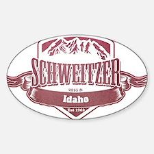 Schweitzer Idaho Ski Resort 2 Decal
