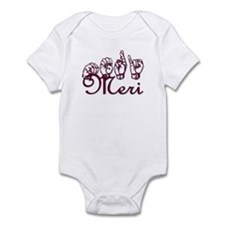 Meri Infant Bodysuit
