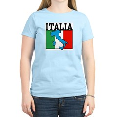 Italia Women's Pink T-Shirt