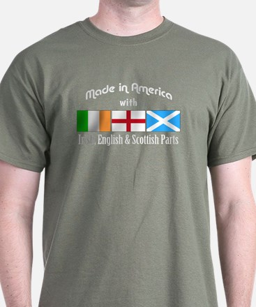 Irish-English-Scottish T-Shirt