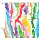 Watercolour Shower Curtains