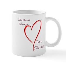 Chin Heart Belongs Mug