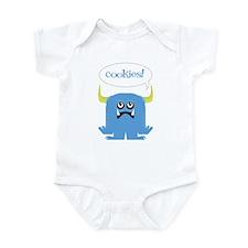 Cookie Monster Infant Bodysuit