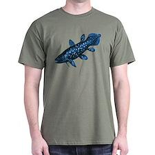 Coelacanth Green T-Shirt