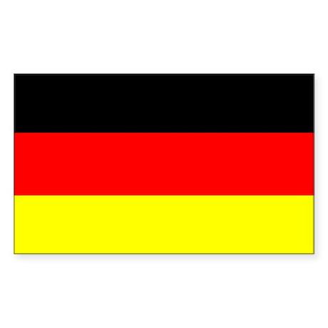 "German Flag Sticker, 3""x5"""