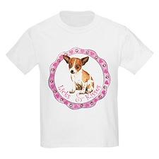 Chihuahua Valentine Kids T-Shirt