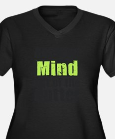 Get Your Mind out of the Gutter Plus Size T-Shirt