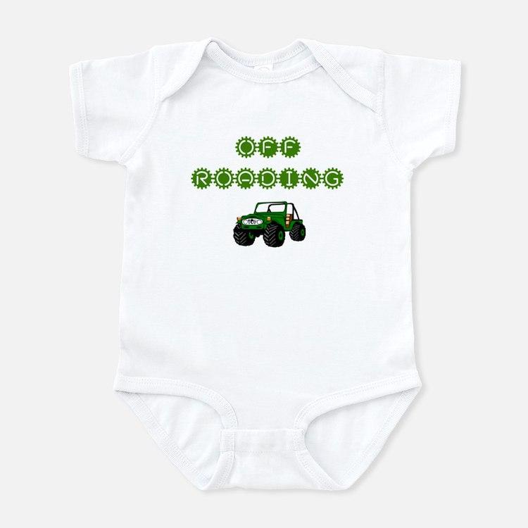 Off roading Infant Bodysuit