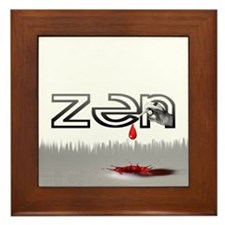 Zen  Framed Tile
