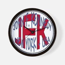 JFK New York USA Wall Clock
