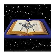 The VSL, The Universe, The Mason Tile Coaster