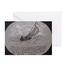 Sailing Wind Greeting Cards (Pk of 10)