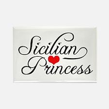 Sicilian Princess Rectangle Magnet
