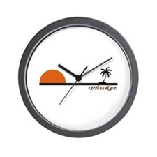 Cute Thailand beach Wall Clock