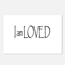 I AM LOVED Postcards (Package of 8)