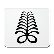 AYA Adinkra Symbol Mousepad
