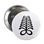 AYA Adinkra Symbol Button