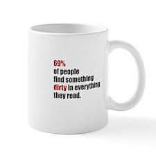 69 dirty Mugs
