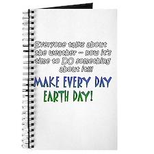 Weird Weather Earth Day Journal