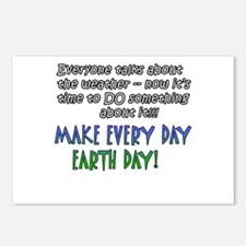 Weird Weather Earth Day Postcards (Package of 8)