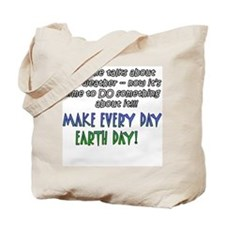Weird Weather Earth Day Tote Bag
