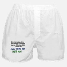 Weird Weather Earth Day Boxer Shorts