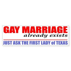 """""""Gay Marriage already exists . . ."""""""