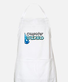 Computer Wizard BBQ Apron