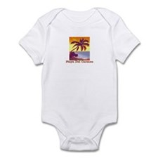 Funny Playa del carmen Infant Bodysuit