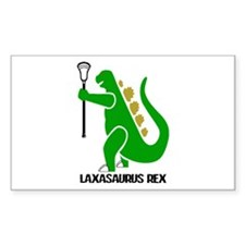 Lacrosse Laxasaurus Rex Decal