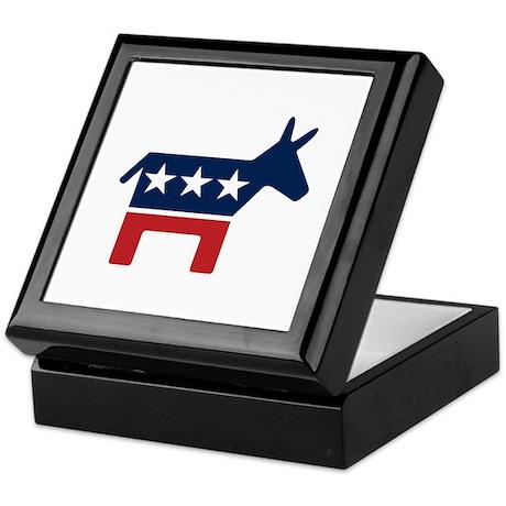 Donkey - Democrat Keepsake Box