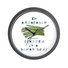 I'm Asparagus Wall Clock