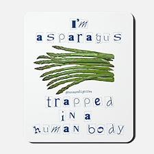 I'm Asparagus Mousepad
