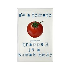 I'm a Tomato Rectangle Magnet