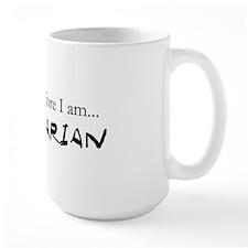 I think therefore I am Veg. Mug