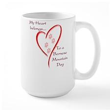 Berner Heart Belongs Mug