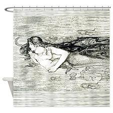 Mermaid by Amelia Bauerle Shower Curtain