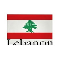 Lebanon Rectangle Magnet