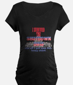 I Survived the Government S T-Shirt
