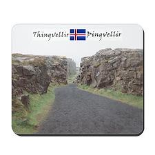 Edge of Thingvellir Mousepad