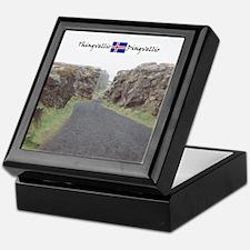 Edge of Thingvellir Keepsake Box