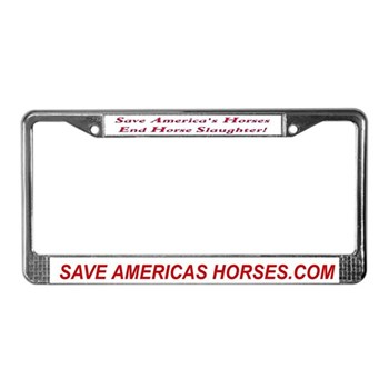Save America's Horses License Plate