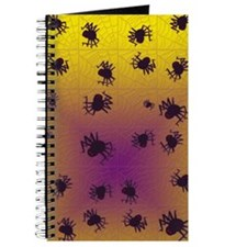 Crawling black spiders Journal