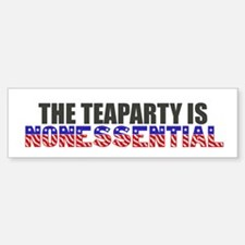 the teaparty is nonessential bumper shutdown Bumpe
