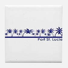 Port St. Lucie, Florida Tile Coaster